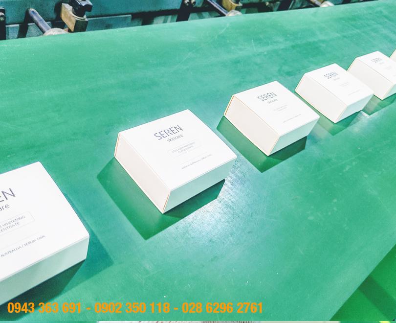 Xưởng sản xuất và in ấn hộp mỹ phẩm